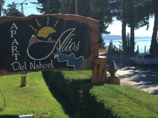 Altos del Nahuel - Bariloche: Llegando por Av Bustillo