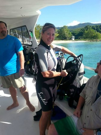 Sandals Whitehouse European Village and Spa: Scuba Diving