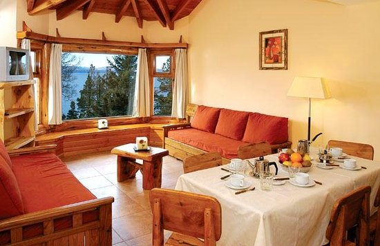 Altos del Nahuel - Bariloche: Living comedor