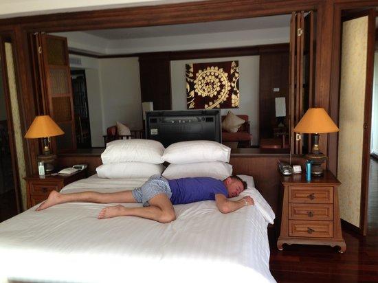 Avalon Beach Resort: Nice comfy bed