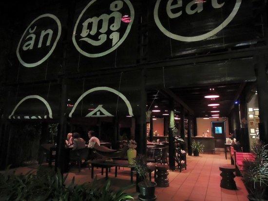 Angkor Safari Hotel: Restaurante