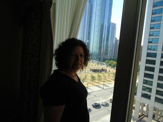 Chicago O'Hare Garden Hotel: vista maravilhosa do meu quarto