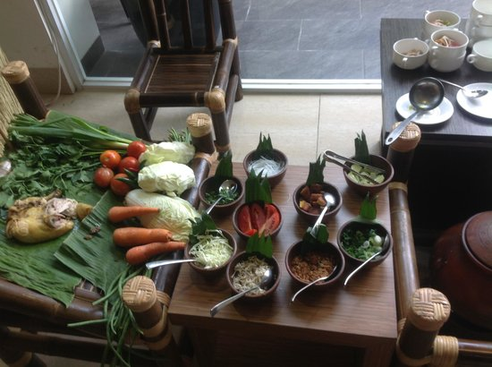Grand Tjokro Yogyakarta: traditional food