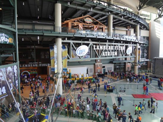 The Lambeau Field Atrium