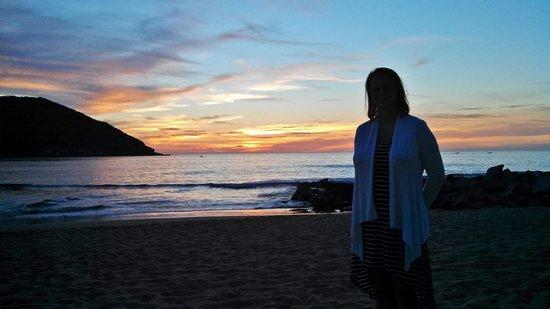 Sunset View from La Costa Marinera