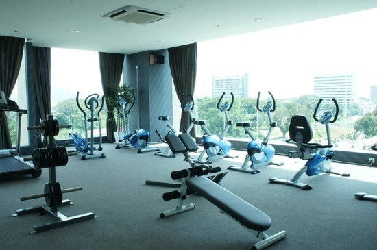 Fitness centre picture of kinta riverfront hotel suites ipoh