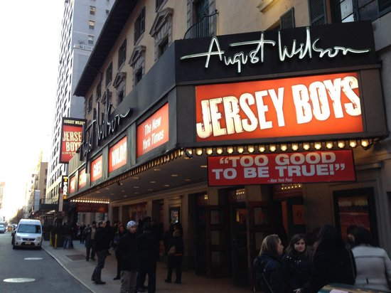 Jersey Boys: Awesome show