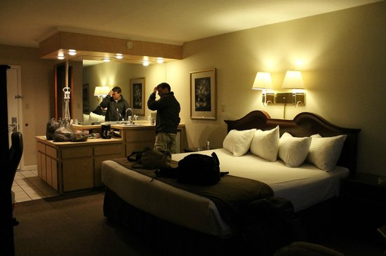 Zoders Inn & Suites: Our room. We were very comfortable!