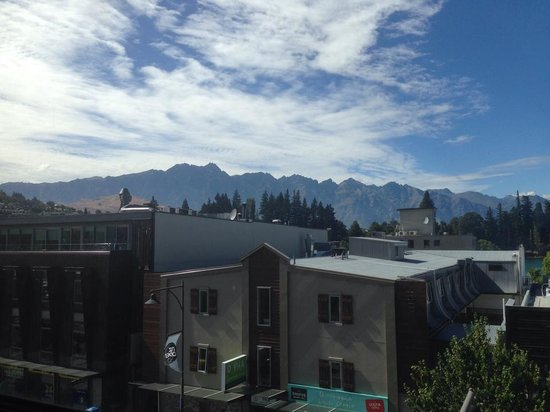 Base Queenstown : The view from my room window