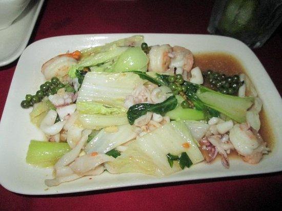 Nyam: Seafood with kampot pepper - fresh, fresh fresh
