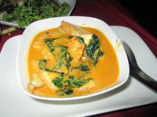 Nyam: Fantastic fish amok, tender and tasty