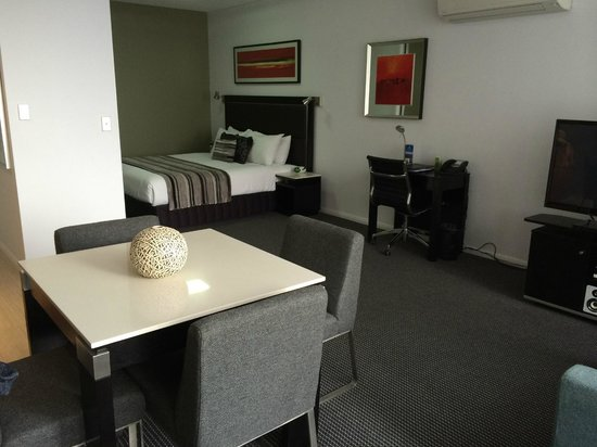 Meriton Serviced Apartments Campbell Street : Immaculate and modern studio
