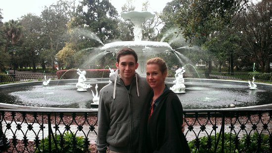 Forsyth Park: Fountain at Forysth