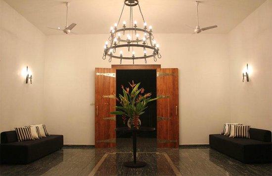 Villa White Queen: Entrance