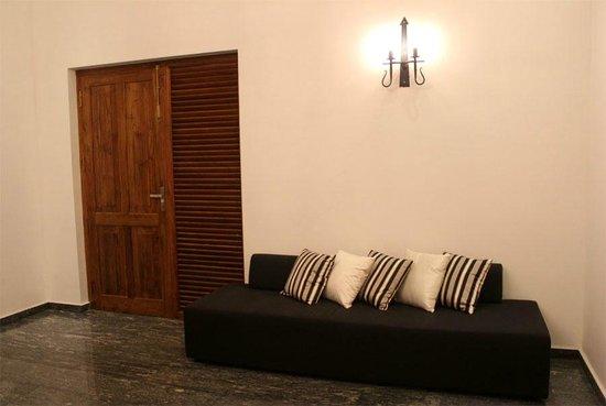 Villa White Queen: Seating area