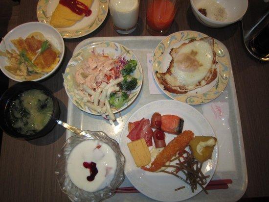 Premier Hotel -CABIN- Sapporo: asameshi20140316