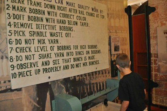 Augusta Canal Discovery Center : can you load spindles fast enough to beat the clock?