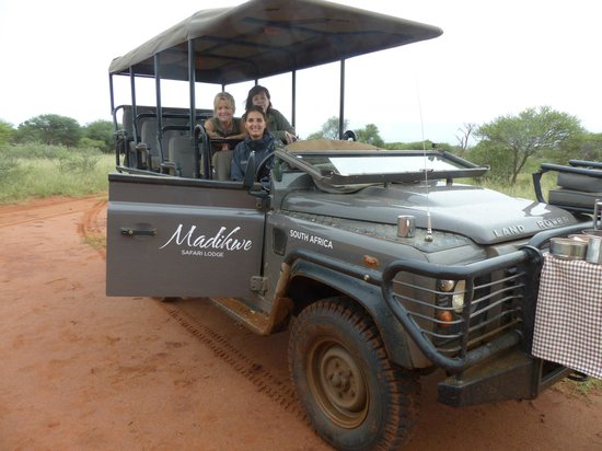 Lion World Travel - Day Tours : Us with our most fabulous Ranger Nicky!!  The Best!!