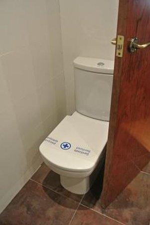 Rialto Hotel : トイレ