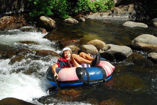Top Travel Costa Rica: tubing Cañón