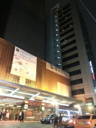 Royal Hotel Seoul: Отель снаружи