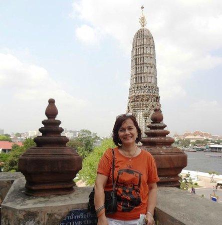 Templo del Amanecer (Wat Arun): Souvenir shot from the top