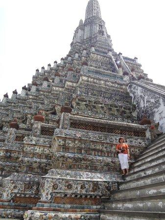 Temple de l'Aube (Wat Arun) : That's me!