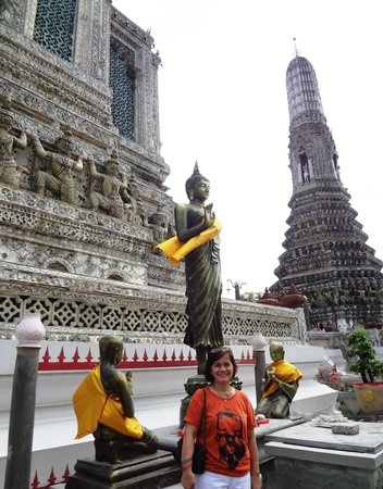 Templo del Amanecer (Wat Arun): Another souvenir shot