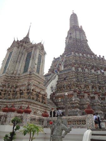 Temple de l'Aube (Wat Arun) : Really amazing!