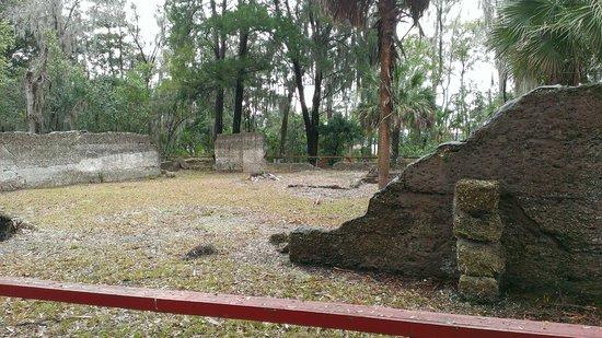 Wormsloe Historic Site: Wormsloe's estate/ tabby ruins