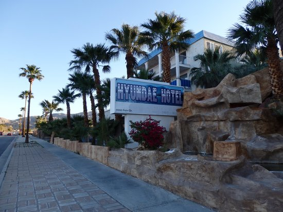 Hyundae Resort And Spa: Front of hotel