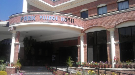Park Village Hotel & Resort: entrance