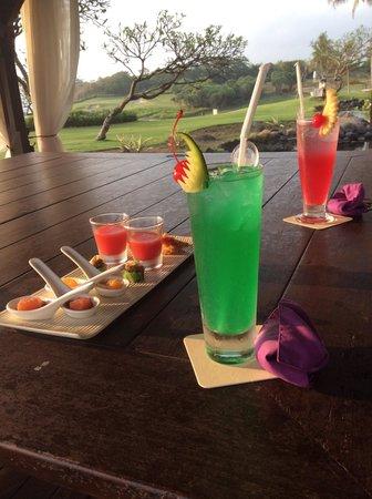 Pan Pacific Nirwana Bali Resort : Happy hour!!