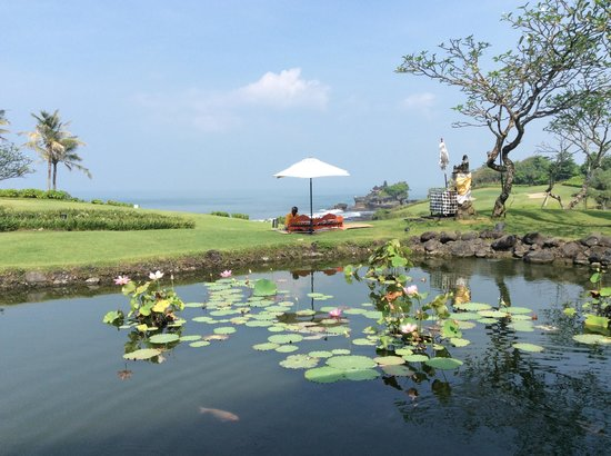 Pan Pacific Nirwana Bali Resort: Breakfast view.
