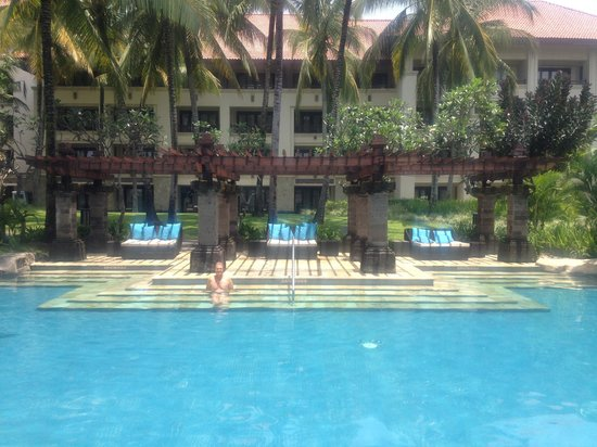 Pan Pacific Nirwana Bali Resort: One of the pools.