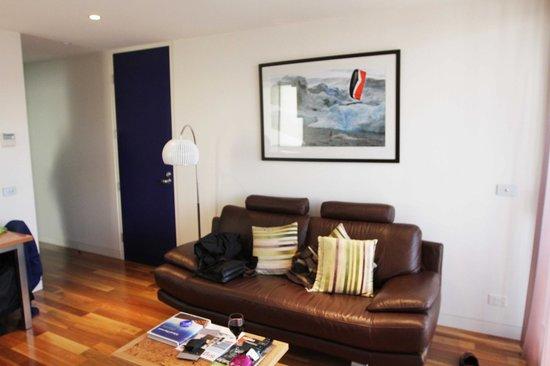 Salamanca Wharf Hotel: Living Room