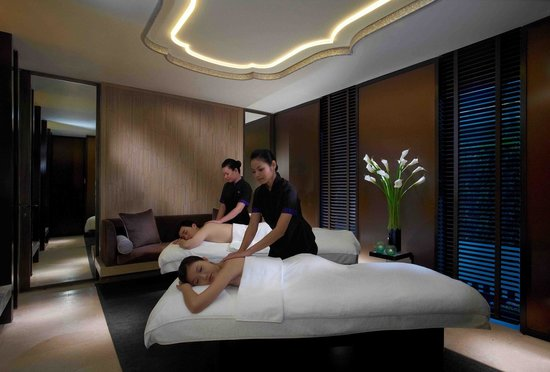 Suntec, Singapur: The Spa at Mandarin Oriental, Singapore