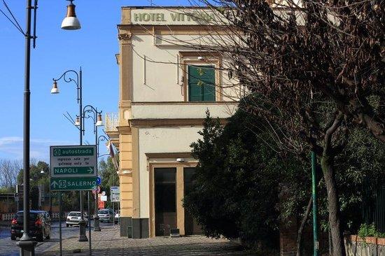 Hotel Vittoria: The Hotel building