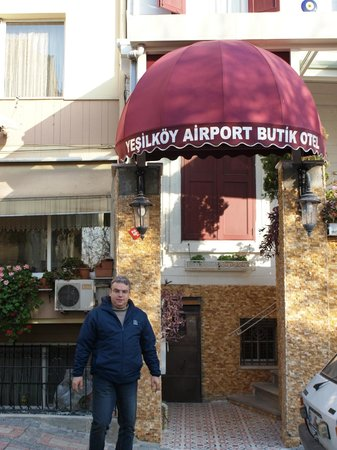 Yesilkoy Airport Boutique Hotel: Entrance