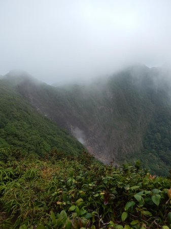 Mombacho Lodge: View of the Mombacho Crater
