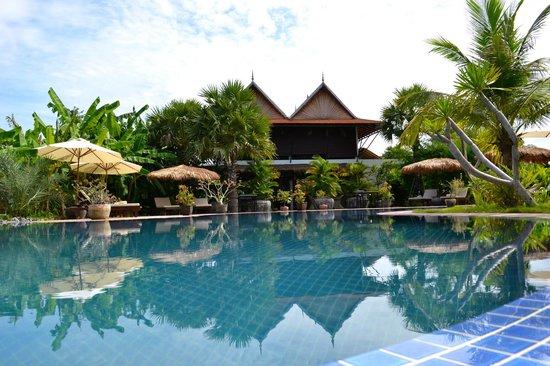 Battambang Resort : Heerlijk bijkomen na een trip aan het grote zwembad