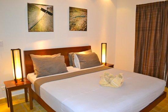 Battambang Resort : Beste matrassen waar wij onze op reis hebben geslapen