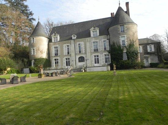 Chateau de Pray : PHOTO DE LA FACADE FACE A LA LOIRE