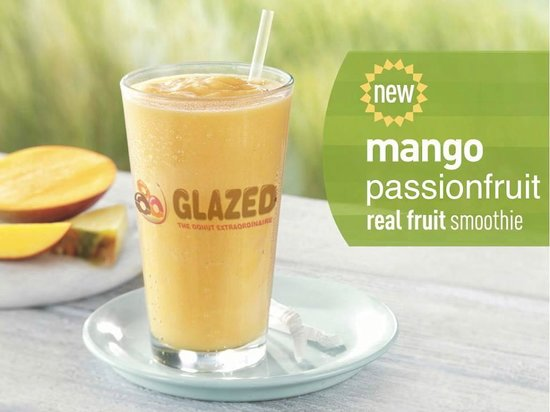 Glazed : We have a wide variety of coffee and iced drinks