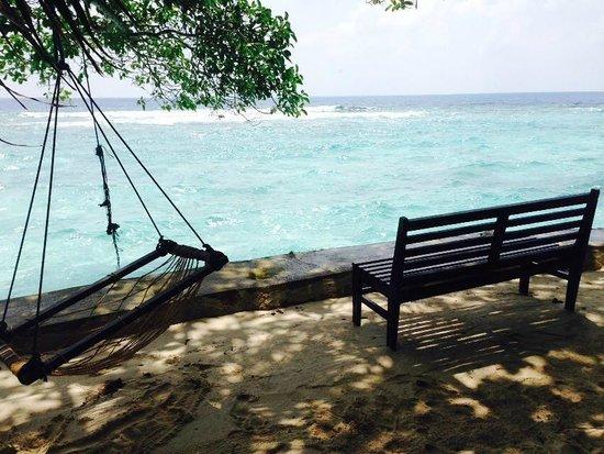 Embudu Village : relaxing place