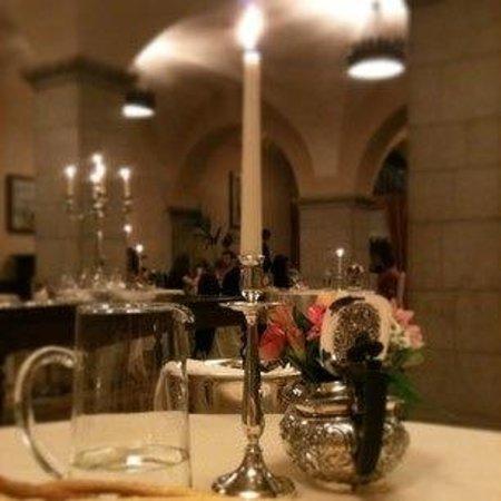 Colleoni dell'Angelo Restaurant : Dal nostro tavolo