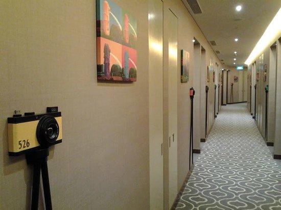 Dorsett Singapore: Corridor