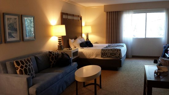 The Anza Hotel: Inside room view