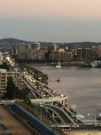 ibis Brisbane: View on the balcony room 1624