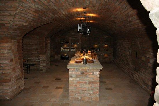 Penzion Siesta: wine cellar